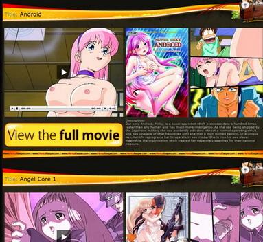 Gallery of hentai cartoons