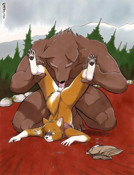 Furry Hentai scene